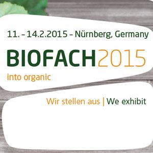 Biofach e Vivaness 2015
