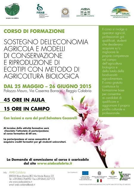 Corso sulla conservazione della biodiversità
