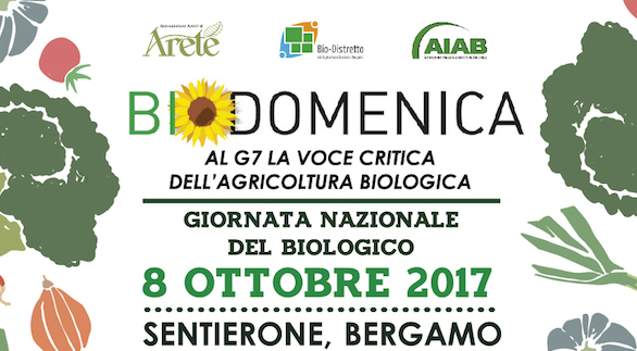 Biodomenica: a Bergamo la grande festa del biologico apre la settimana del G7 e fa il focus sull'Agricoltura Sociale