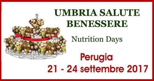 """A Perugia per la VII edizione di """"Umbria Salute e Benessere – Nutrition Days"""""""