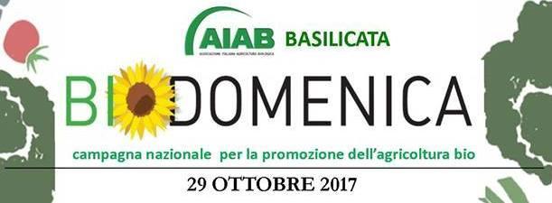 Gli appuntamenti della Biodomenica continuano!