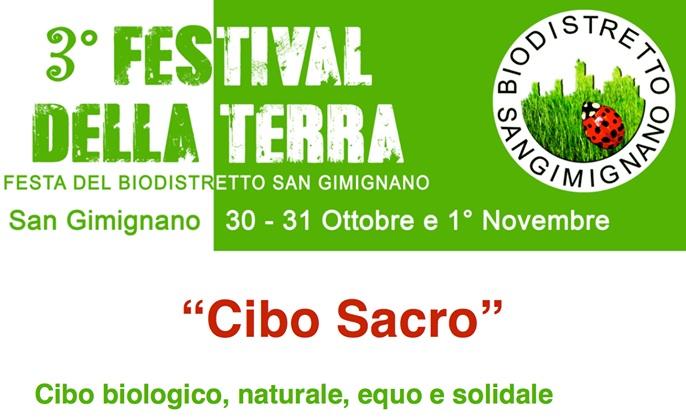 A San Gimignano il Festival della Terra dal 30 ottobre al 1 novembre