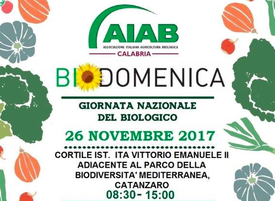 Appuntamento con AIAB Calabria per la Biodomenica