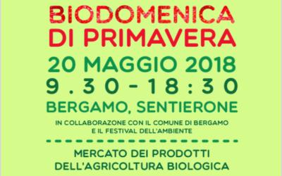 A Bergamo la Biodomenica il 20 maggio: oltre 40 i produttori