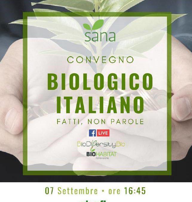 """Sana 2018 e """"Il biologico italiano"""": un convegno organizzato da AIAB su prospettive e criticità"""