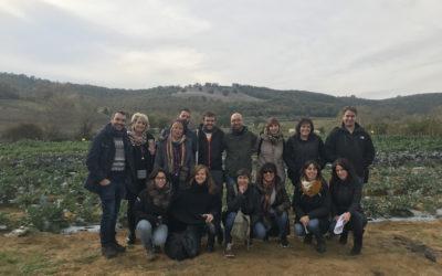 Perugia, best practice, prima tappa del tour di AIAB, Firab con Jiusticia Alimentaria