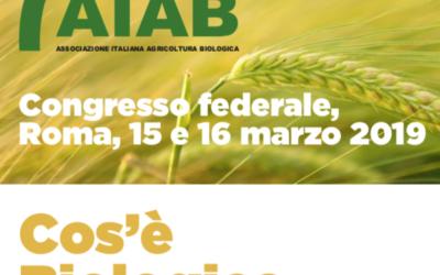 Cos'è il biologico al 2020 – Congresso AIAB 15-16 marzo