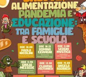Maratona su Salute, alimentazione, pandemia e educazione: tra famiglie e scuola.