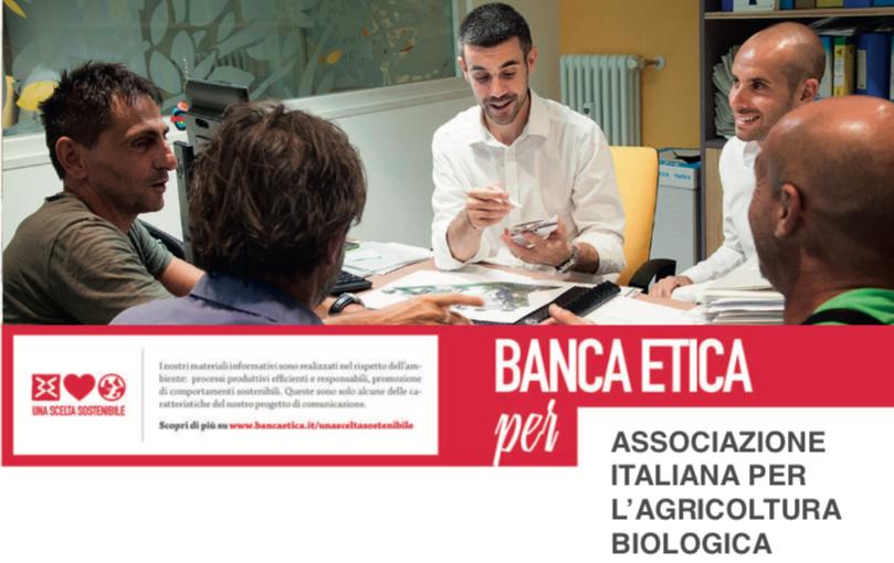 Per i soci AIAB vantaggi e novità da Banca Etica