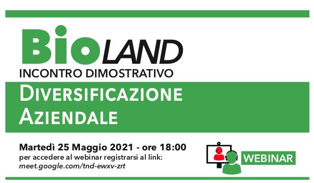 Diversificazione aziendale: incontro Bioland 25 maggio organizzato da AIAB Calabria
