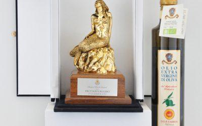 l'olio dell'azienda umbra socia AIAB di Noemio Bacci vince il Premio Nazionale Sirena d'Oro.