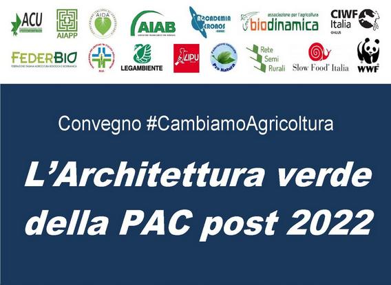Architettura verde della PAC post 2020: il biologico, un pilastro fondamentale